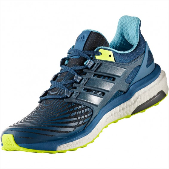 Blue Adidas Energy Boost Running Shoes 2017/2018