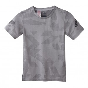 T-Shirt Junior adidas ENGIN GRIS