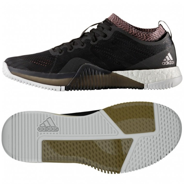 ee48bf40397 Chaussures d entrainement Adidas CrazyTrain Femme - Olympique ...