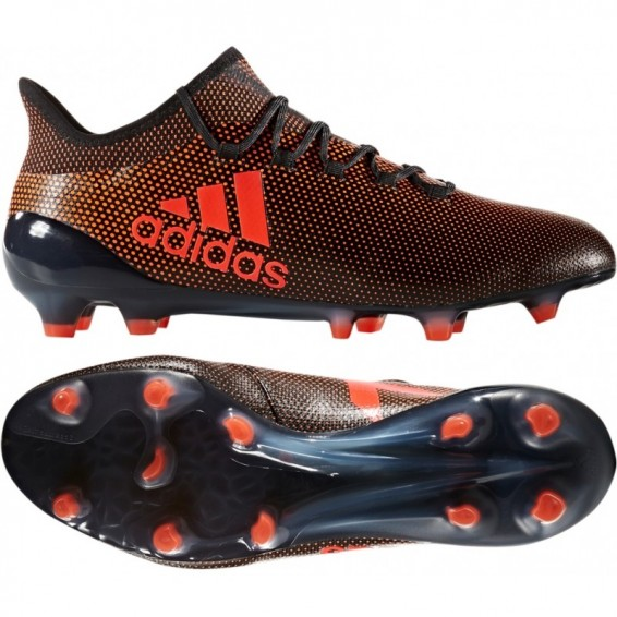 Chaussure Adulte Adidas X 17.1 FG noir / orange