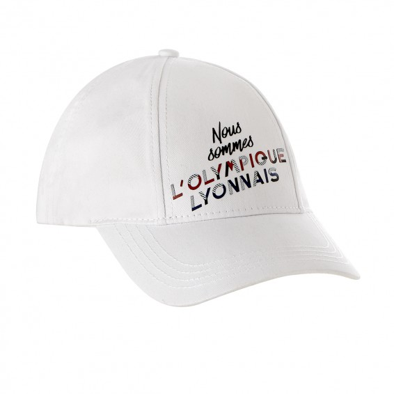 Adult White OL Relief Cap