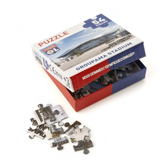 54 pieces Puzzle GROUPAMA STADIUM