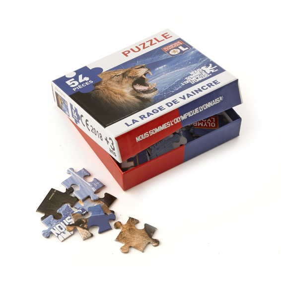 54 pieces Rage of Winning Puzzle