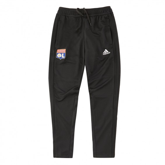 Junior Black Training Pants Adidas Olympique Lyonnais 2018/2019