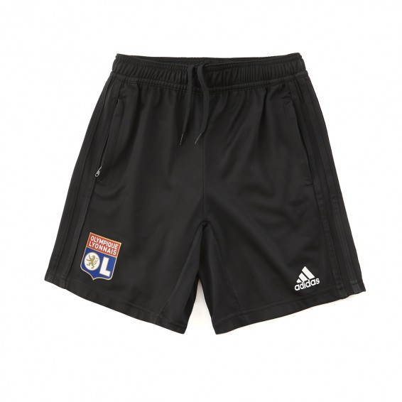 Training Short Adidas Olympique Lyonnais Junior Black 2018/2019