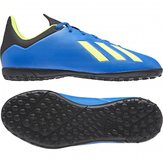 various colors 05423 31c1e Chaussure Junior Adidas X Tango 18.4 Turf Bleu 20182019