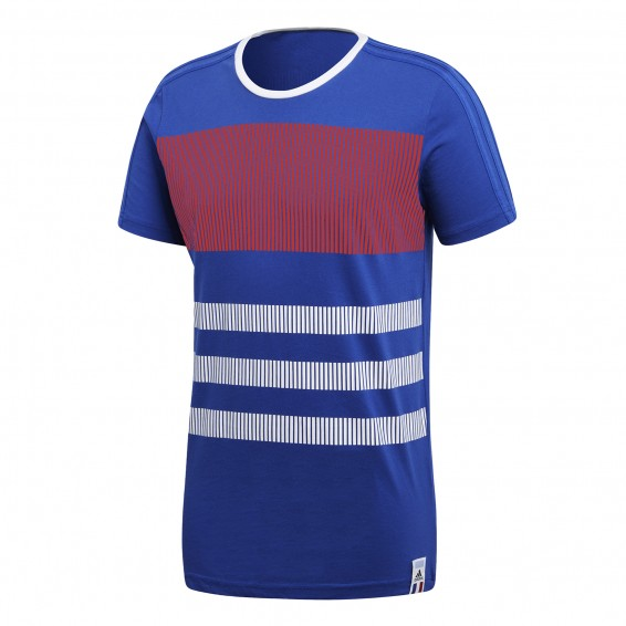 T-Shirt Adulte Adidas FRANCE Coupe du Monde 2018