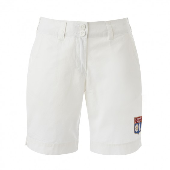 Women White OL Summer Bermuda