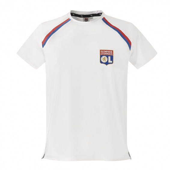 White Junior RefleKt Olympique Lyonnais Training Jersey