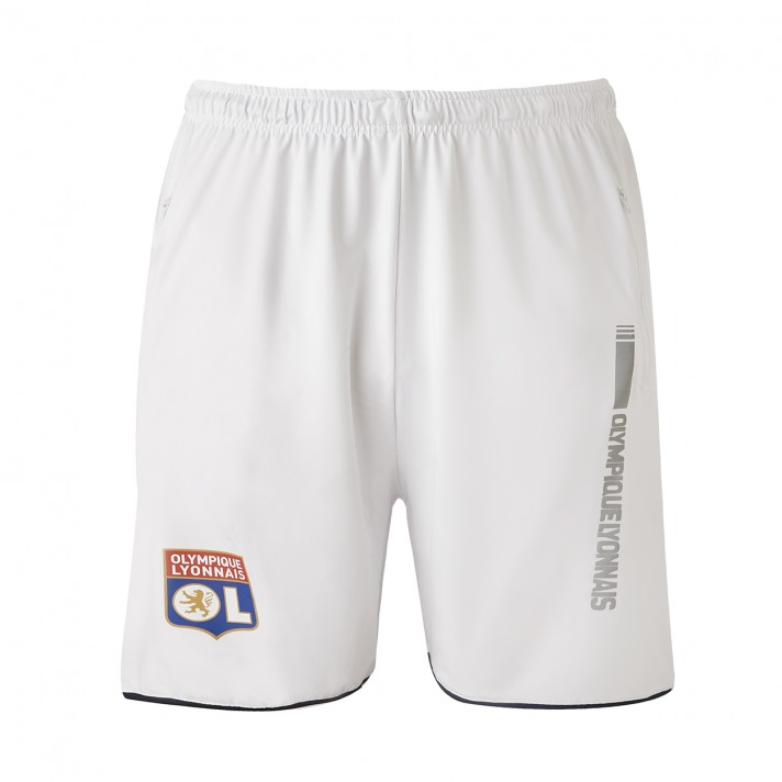 Short Training Blanc Adulte RefleKt Olympique Lyonnais