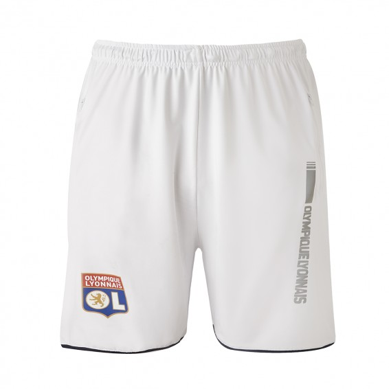 Junior White RefleKt Olympique Lyonnais Training Short