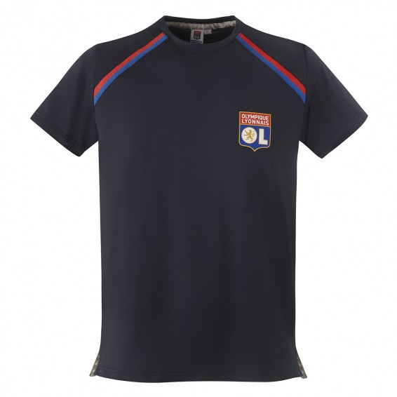 Navy Blue Junior RefleKt Olympique Lyonnais Training Jersey