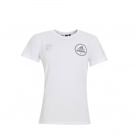 T-Shirt Adulte Homme Blanc Three Stripe Life