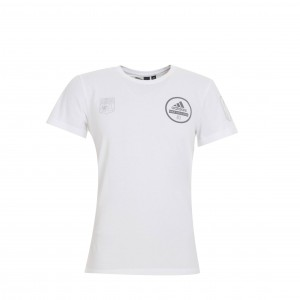 T-Shirt Adulte Homme Blanc Three Stripe Life - Taille - XS