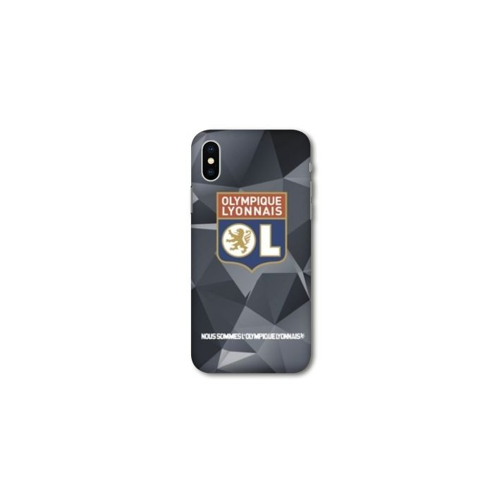 Iphone X case - Black Hexa model
