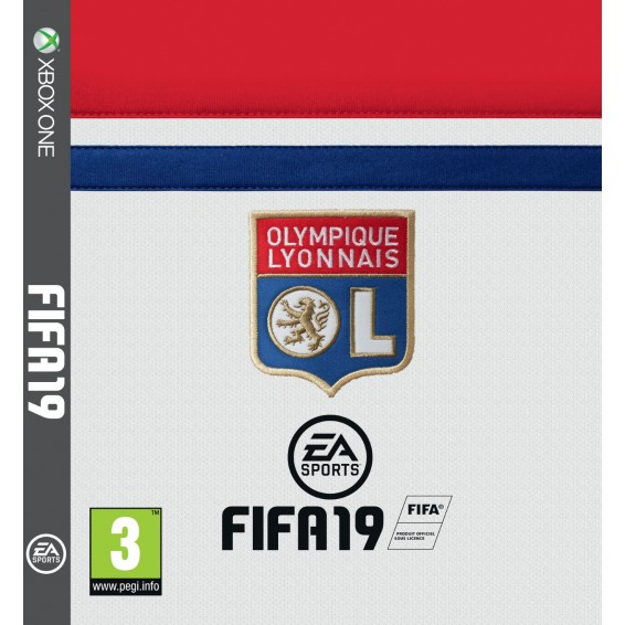 FIFA 19 Olympique Lyonnais edition on Xbox One