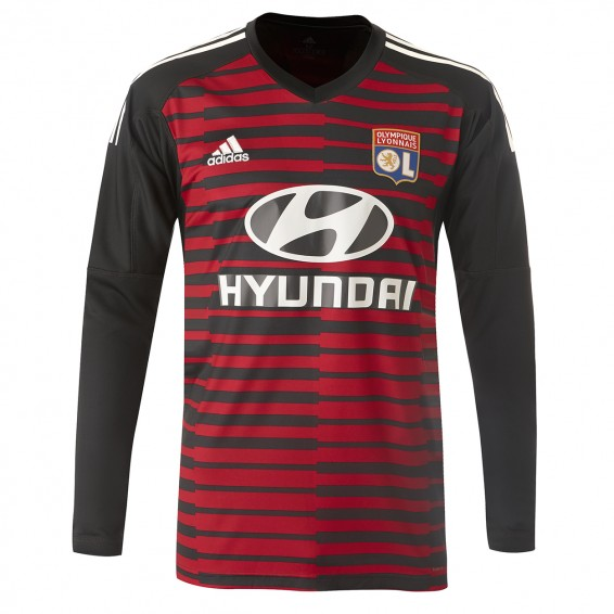 Long Sleeve black Jersey goalkeeper 2018-19