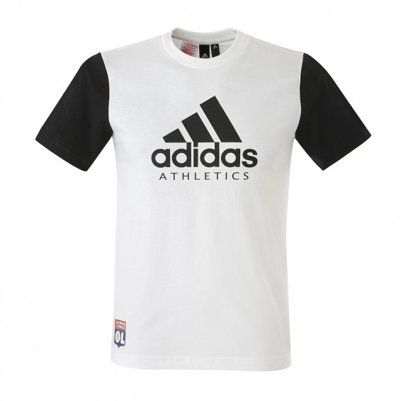 T-Shirt Garçon Blanc Athletics
