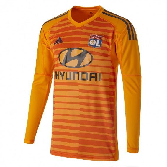 LONG SLEEVE ORANGE JERSEY GOALKEEPER JUNIOR 2018-19