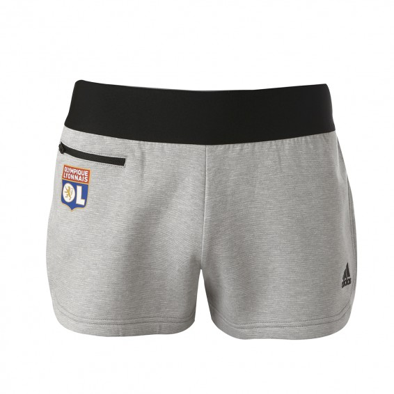 Short Court Training Gris Femme