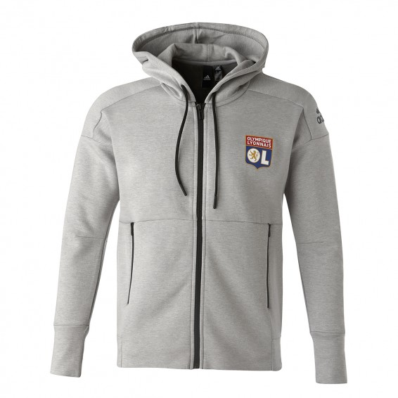 Sweat Capuche ID Adulte Gris