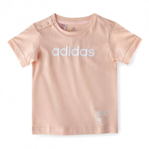 T-Shirt Bébé Fille Rose