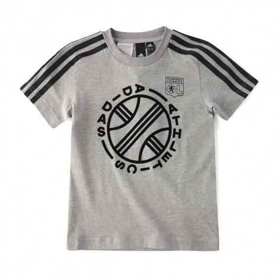 T-Shirt Junior ID GRAPHIC Gris