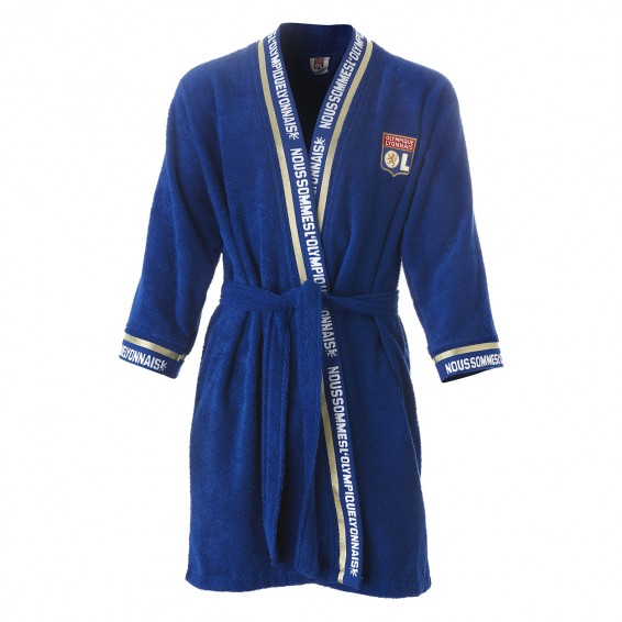 OL Blue Junior Bathrobe