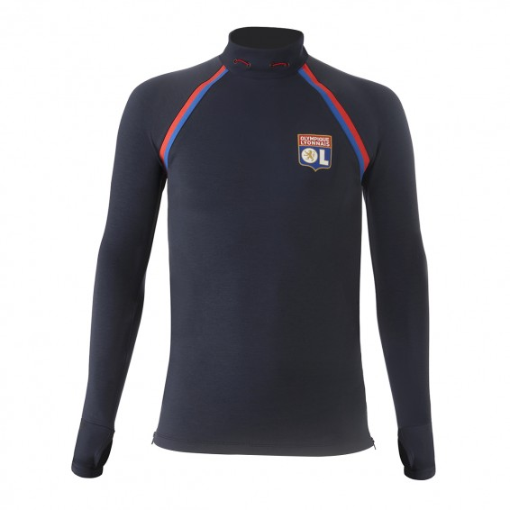 Sweat Training bleu Junior RefleKt Olympique Lyonnais