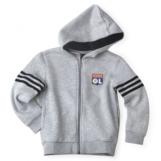 Sweat Capuche SID Junior Gris