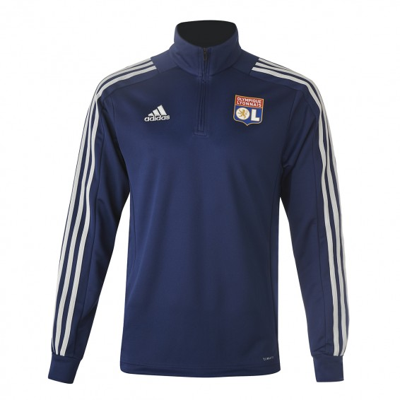 Sweat training 1/2 zip bleu marine ADIDAS Adulte