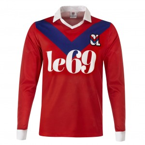 Maillot OL 1989-1990 réplica - Taille - S