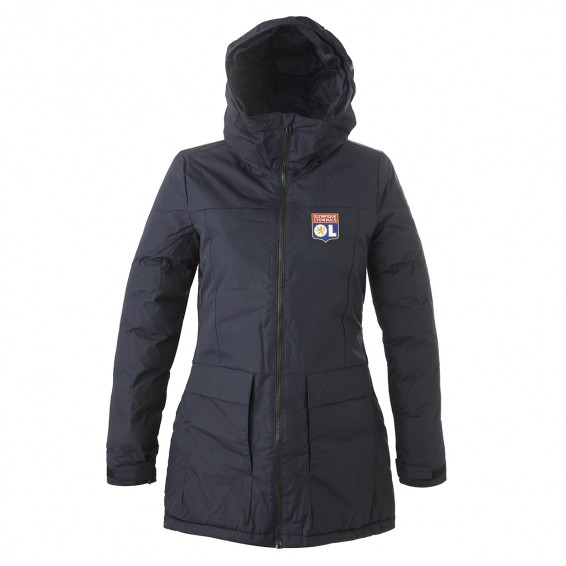 Xploric Women's Parka Navy Blue