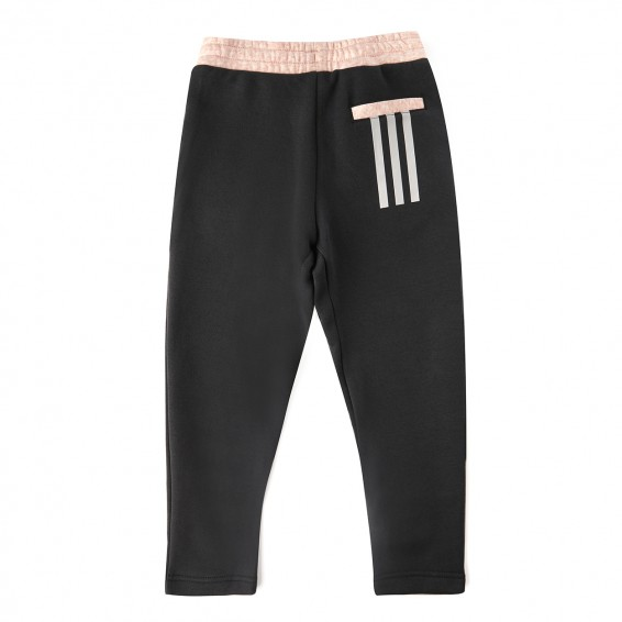 Pantalon de Survetement Junior Femme Rose/Carbon