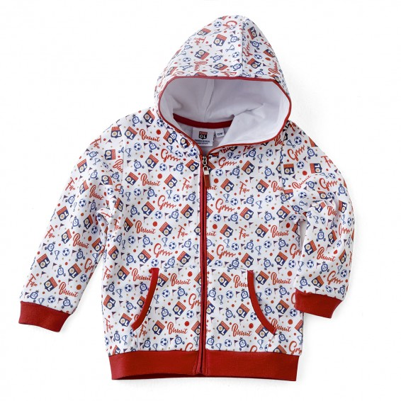 Veste jogging bébé rouge Baby But !!
