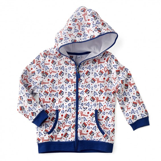 Veste jogging bébé bleue Baby But !!