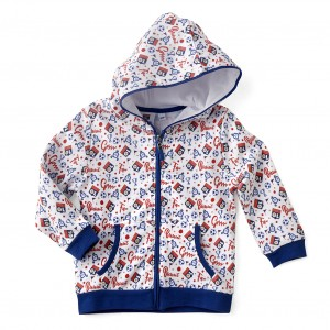 Veste jogging bébé bleue Baby But