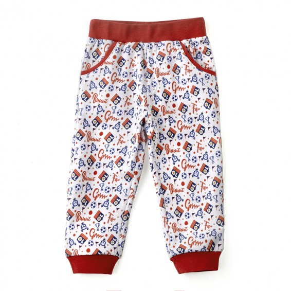 Pantalon jogging bébé rouge Baby But !!