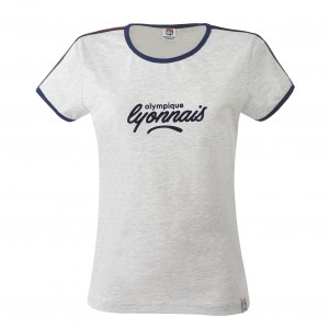 T-Shirt gris Lifestyle Femme - Taille - 2XS