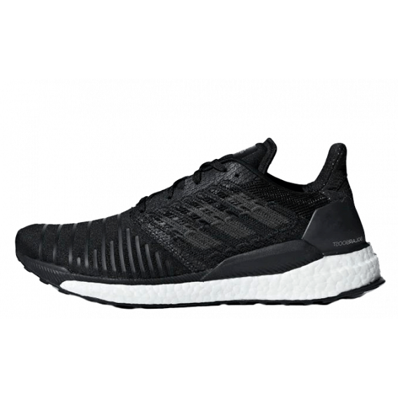 Black Shoes Solar boost Running 2018-19