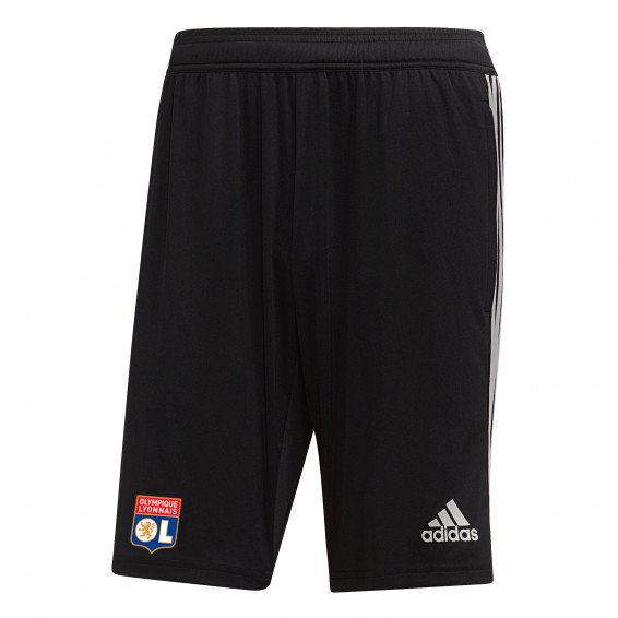 Black Adult Training Shorts OL adidas 19/20