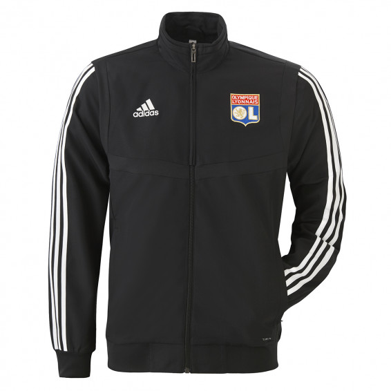 Veste de survetement noir adidas 19-20
