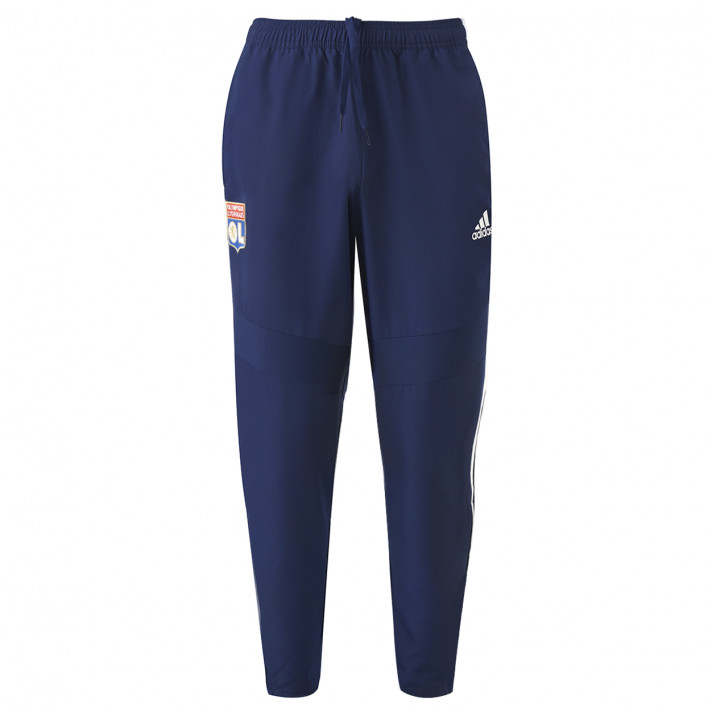 Navy blue Junior Sweat Pants OL Adidas 19/20