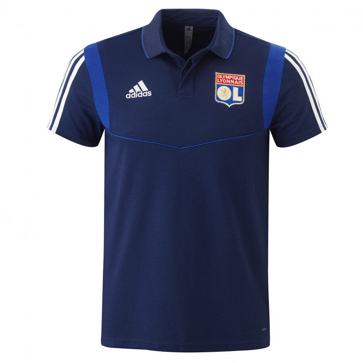 Away junior polo shirt navy blue OL player adidas 19-20