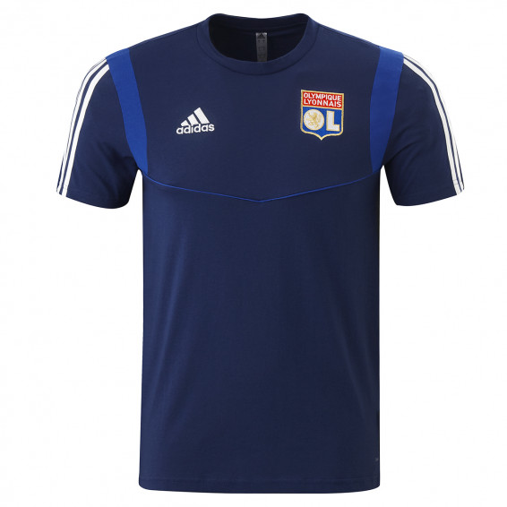 Away adult t-shirt navy blue OL player adidas 19-20