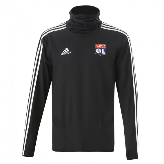Black Winter Training Sweatshirt OL adidas 19/20