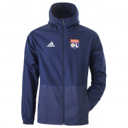 Navy blue Windbreaker OL adidas 19/20