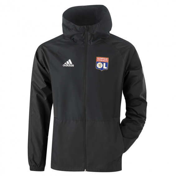 Black Windbreaker Staff OL adidas 19/20
