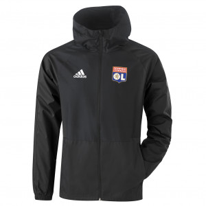 Coupe vent noir OL adidas 19/20 - Taille - XS