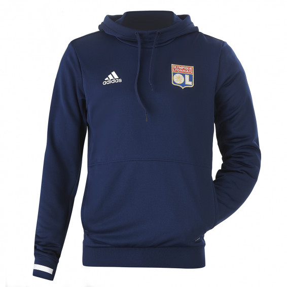 Navy Blue Adult Sweat Hood OL Adidas 19/20